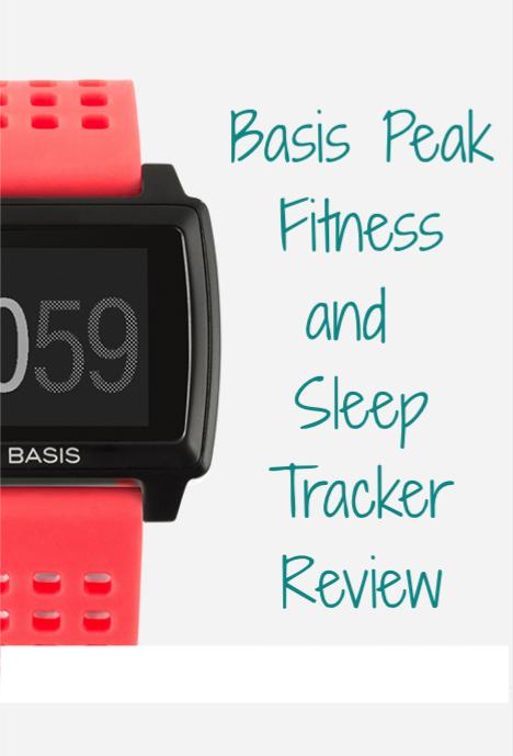 Basis Peak Smart Watch Review | www.thegingermarieblog.com
