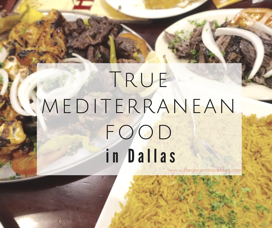 True Mediterranean Food in Dallas | www.thegingermarieblog.com