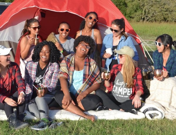 What Glamping Is Like For People Who Are Afraid Of Everything | www.thegingermarieblog.com