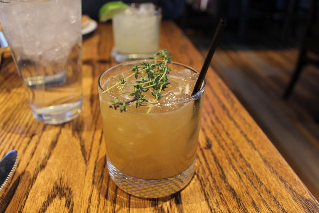 Ritten in Thyme Craft Cocktail
