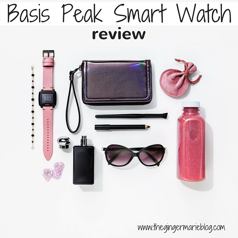 Basis Peak Smart Watch Review | www.thegingermarieblog.com