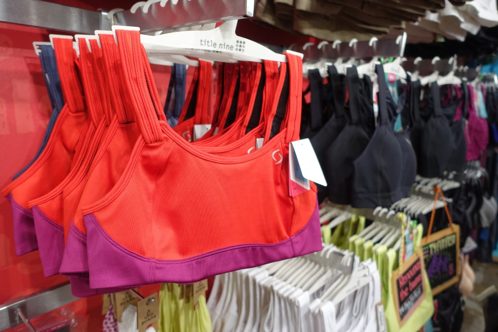 A Sports Bra for Every Size | www.thegingermarieblog.com