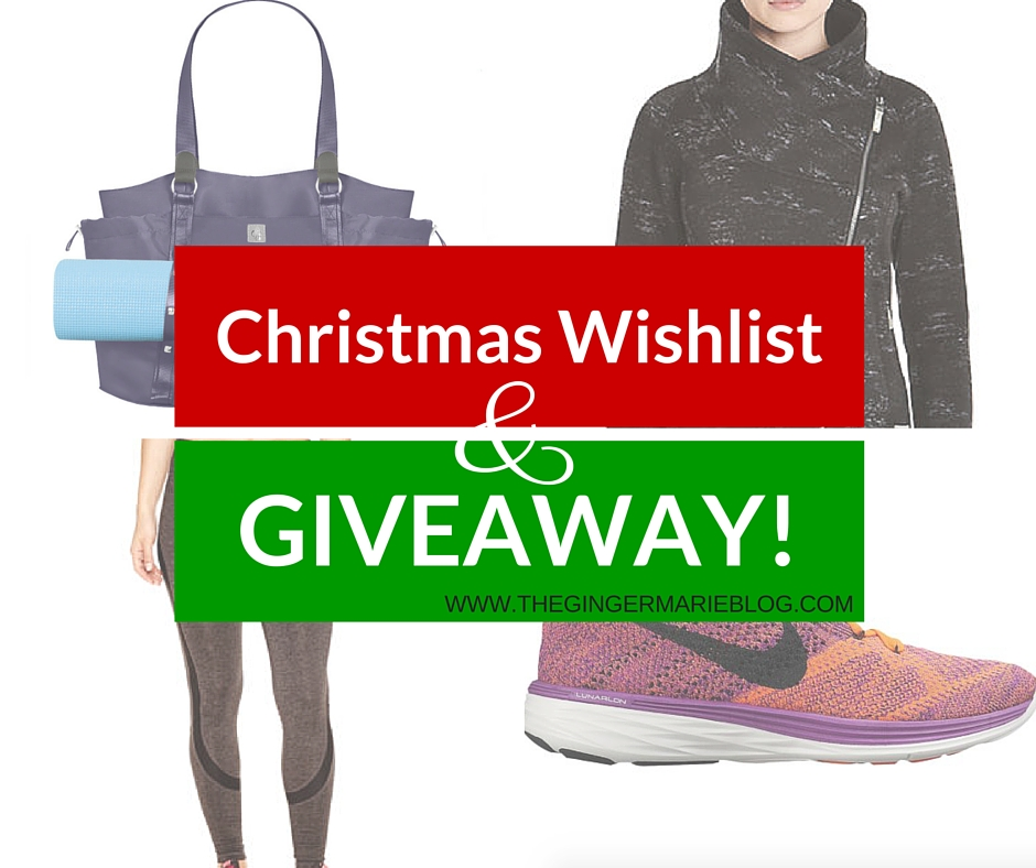Christmas Gift List For The Fitness Freak (And A Giveaway) | www.thegingermarieblog.com