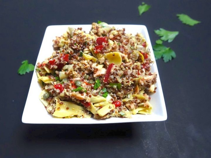 Salmon and Artichoke Salad