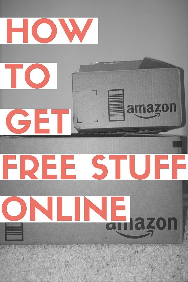 Get free stuff online for free