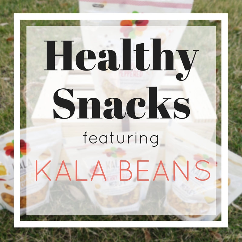 Healthy Snacks Featuring Kala Beans - Ginger Marie