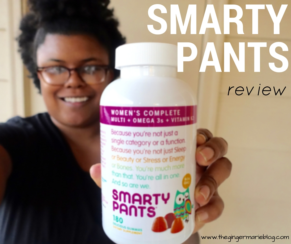 Take Your Vitamins, Smarty Pants! | www.thegingermarieblog.com