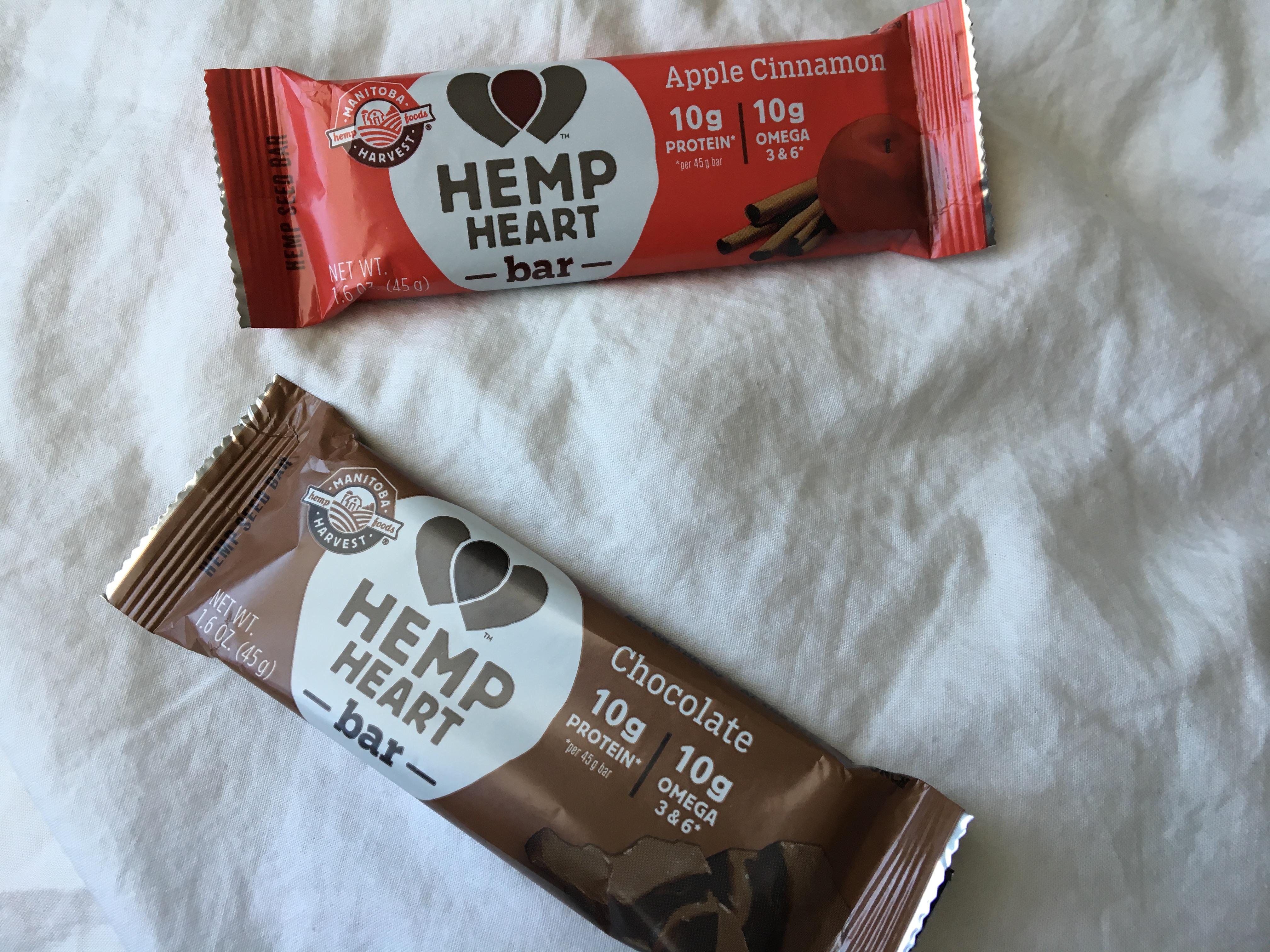 Manitoba Harvest's New Hemp Heart Bars | www.thegingermarieblog.com