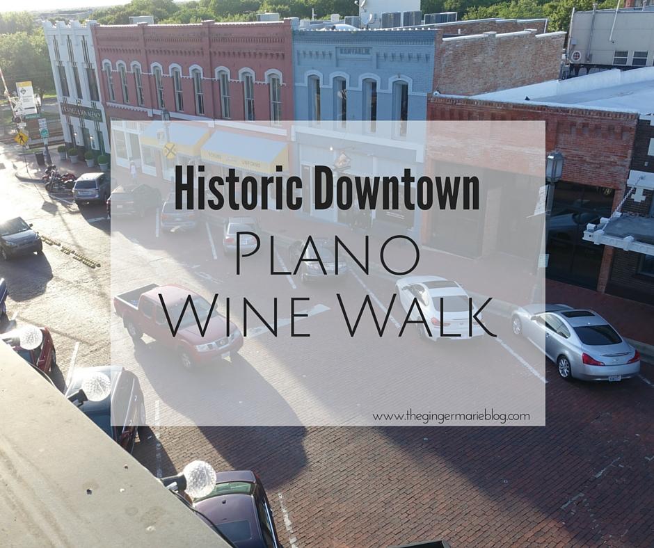 DowntownPlanoWine Walk