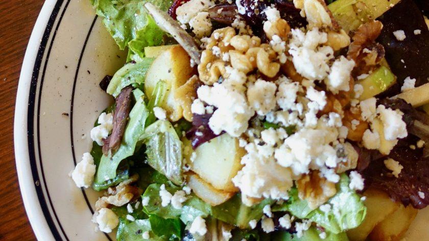 The Perfect Fall Salad For Diner En Blanc | www.thegingermarieblog.com