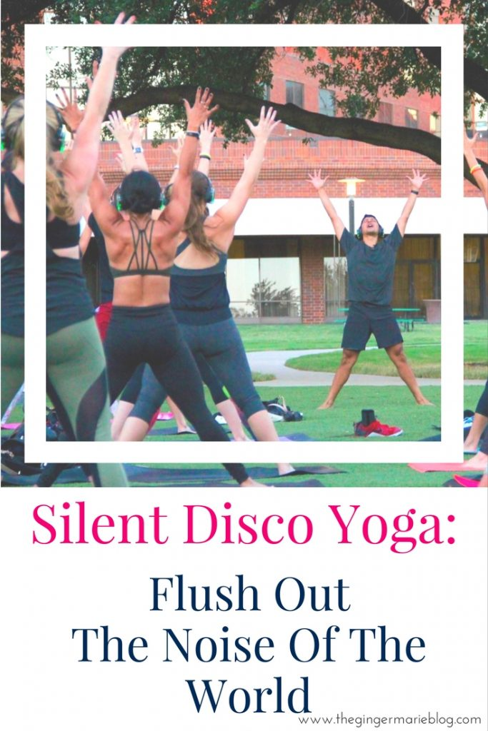 Silent Yoga Disco: Flush Out The Noise Of The World | www.thegingermarieblog.com