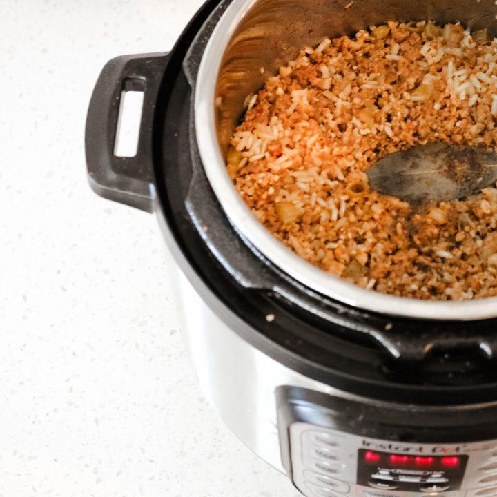 Instant Pot Dirty Turkey Rice