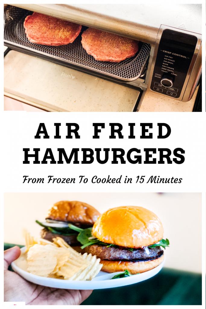 Air Fry Frozen Burgers