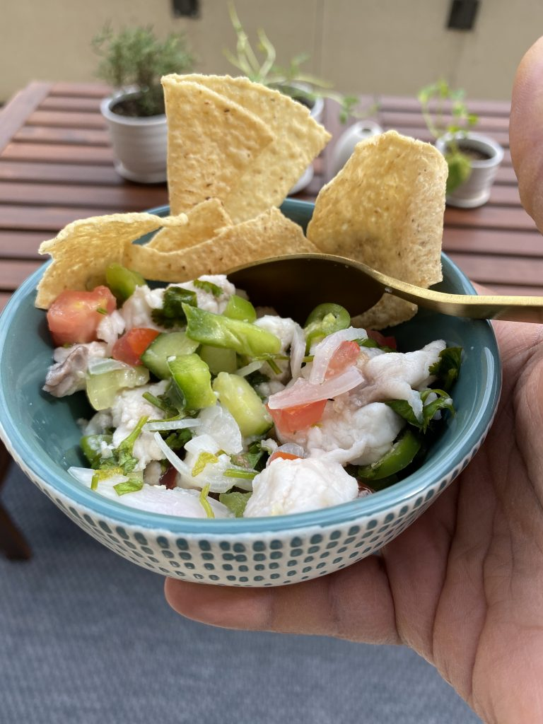 Ceviche With Chips