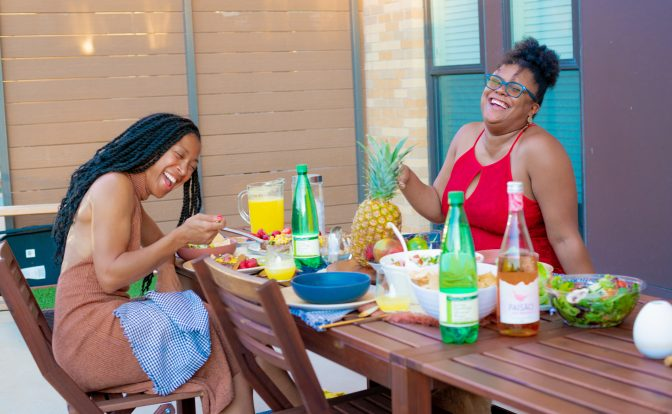 how to host a tropical food-cation